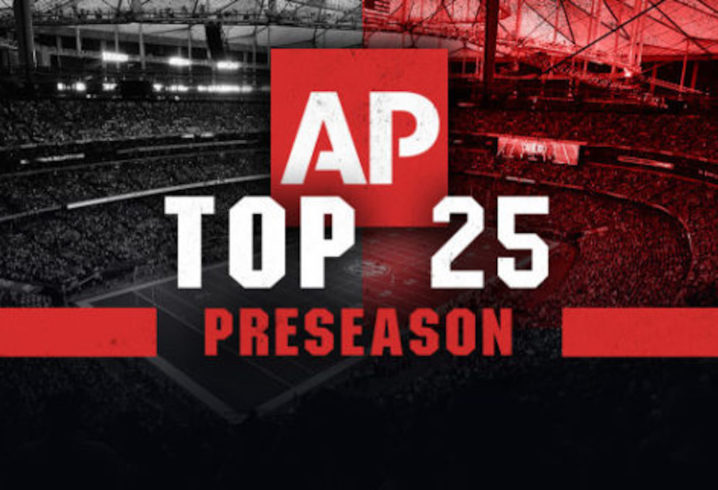 Fading College Football Pre Season Ap Top 10